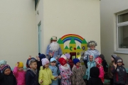 Детский сад собирает отработанные батарейки